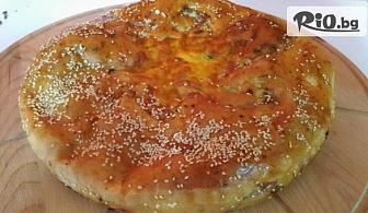 Фокача с маслини и розмарин, Вита баница или Болярски тутманик, от Пекарна Taste It