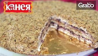 Френска селска торта по избор - класик, с вишни или боровинки