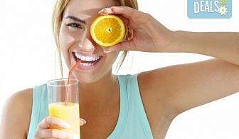 Fresh! 2 литра прясно приготвен фреш: лимонада, портокал, ябълка, морков или микс от Fresh & GO!