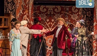 """Гледайте постановката """"Иванов"""" от А. П. Чехов, на 25.05.. от 19ч., в Младежки театър! С награда """"Икар 2017"""" за поддържаща мъжка роля! 1 билет"""