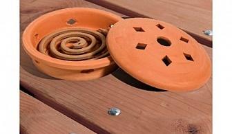 Глинена поставка за спирали + 10 спирали