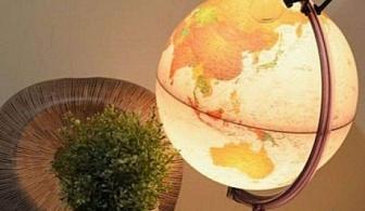 Глобус със светлина и лупа Marco Polo