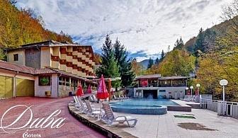 Горещ МИНЕРАЛЕН басейн + нощувка, закуска и вечеря в Хотел Дива, с. Чифлик през Март