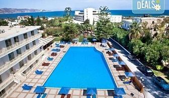 Гореща оферта! Лятна почивка в Marilena Hotel 4*, о. Крит, с чартърна програма от ТА Солвекс! 7 нощувки на база All Inclusive, самолетен билет с такси и трансфери!