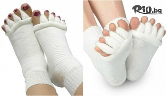 Грижа за краката! Компресивни чорапи, Спа чорапчета или Чорапче разделител за всички пръсти на крака, от Hipo.bg
