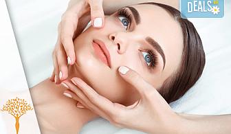 Грижа и красота в едно! 30-минутен лимфодренажен анти-ейдж масаж на лице в Масажно студио Alder health & wellness!