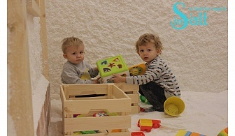 С грижа за здравето. Посещение на солна стая за деца или възрастни от Солна стая In Salt
