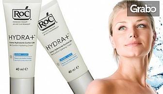 Хидратиращ крем за лице RoC Hydra + 24h Comfort за нормална и комбинирана кожа