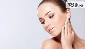 Хидратираща терапия за лице в дълбочина с хиалуронова киселина, вложена с ултразвук, от Салон за красота Стил - Таня Райкова