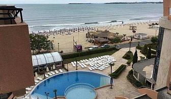 Хотел Фиеста М в Слънчев бряг, на самата плажна ивица, на Ол Инклузив за една нощувка на човек / 16.07.2019-15.08.2019