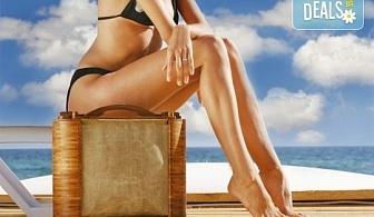 Идеално тяло! 5 или 7 антицелулитни процедури: кавитация, терапия с глина, сауна одеало, целутрон, пресотерапия, вибро колан и crazy fit в Senses Massage & Recreation!