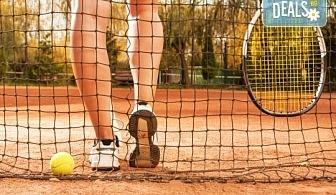1 индивидуален урок по тенис на корт с професионален треньор Тина Манолова в Тенис клуб Acers, Варна!