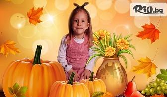Индивидуална или семейна фотосесия на открито или в студио с 10 обработени кадъра, от Студио Виница - Viewart