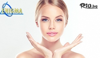 Инжективна мезотерапия на лице, шия или деколте + Подарък - ултразвуково почистване, от Центрове Енигма
