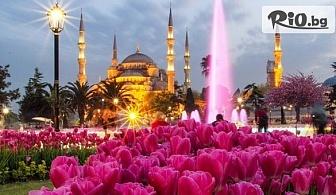 """В Истанбул за Фестивалa на лалето! 2 нощувки със закуски, автобусен транспорт, екскурзовод и посещение на църквата """"Първо число"""", от Еко тур Къмпани"""