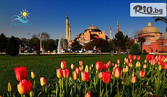 """Истанбулска приказка за Фестивалa на лалето! 2 нощувки със закуски, автобусен транспорт, екскурзовод и посещение на църквата """"Първо число"""", от Еко тур Къмпани - ПОТВЪРДЕНА"""