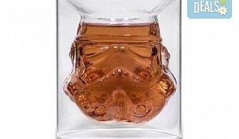 За истинските ценители - лицензирана чаша за уиски Stormtrooper с вместимост 150 мл.!