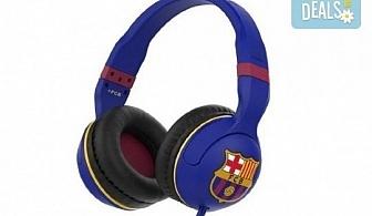 За истинските фенове! Вземете слушалки Skullcandy Hesh 2.0 с микрофон и логото на ФК Барселона!