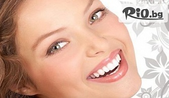 Избелване на зъбите с професионалната система POLA OFFICE PLUS + почистване на зъбен камък и полиране с 62% отстъпка за 114.90лв, от Д-р Караджова
