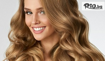 Измиване на косата, подстригване и оформяне на прическа със сешоар с продукти висок клас с млечна киселина, от Салон за красота Анита