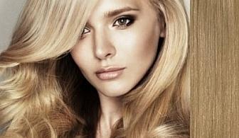 Измиване, подстригване, кератинова ИЛИ арганова терапия, оформяне на прическа със сешоар за 12.90 лв. вместо 40 лв. с 68% отстъпка от салон за красота M & M Blush Beauty!