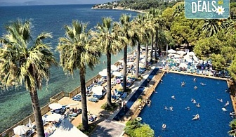 Изпратете лятото с луксозна почивка в Omer Holiday Resort 4* в Кушадасъ! 7 нощувки на база All Inclusive и възможност за транспорт!