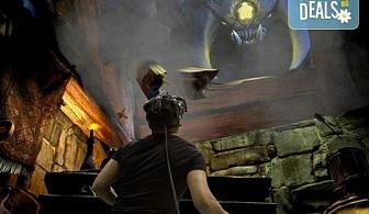 Изживейте сам или с приятели последното поколение виртуална реалност в първия за България Open Space VR club!