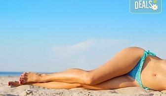 Кадифено гладка кожа! Лазерна епилация на пълен интим за жени, която може да се прави и през лятото! 1, 3 или 5 процедури, в салон за лазерна епилация MJ Aesthetic!