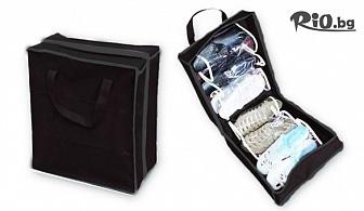Калъф за съхранение за 6 чифта или Органайзер за 12 чифта обувки, от Hipo.bg