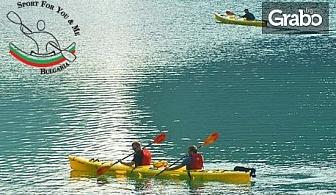 С кану-каяк в езерото Панчарево! Разходка или персонална тренировка с инструктор