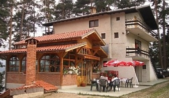 Къща Тангра за 20 човека в Цигов чарк с трапезария, камина, оборудавна кухня САМО за 260 лв.