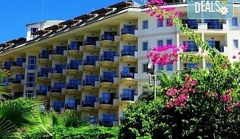 Късно лято в Алания, Турция, с BELPREGO Travel! Mukarnas Resort And Spa Hotel 5*, 7 нощувки на база Ultra All Inclusive, възможност за организиран транспорт!