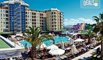 Късно лято в Didim Beach Elegance Aqua & Thermal 5*, Турция, с Глобус Холидейс! 5 или 7 нощувки All Inclusive, безплатно за дете до 12.99 г, възможност за транспорт