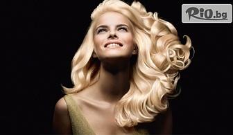 Кератинова терапия за коса с продукти на Selective + ламинираща преса Up Grade и с възможност за подстригване, от Sesil Styling Studio