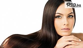 Кератинова терапия за коса + сешоар и стилизиране, от S andamp; G Studio