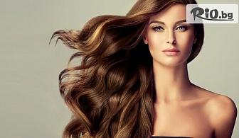 Кератинова терапия за коса + сешоар и стилизиране с 57% отстъпка, от S andamp; G Studio