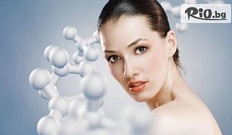Кислородна терапия, диамантен пилинг с перлен екстракт и кислороден серум или Дълбоко почистваща терапия + почистване на вежди, от Салон за красота Cuatro