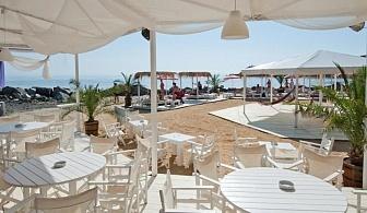Клуб хотел Хермес, Царево - морски приключения за малки и големи с безплатни шезлонги и чадъри на плажа  на ULTRA ALL INCLUSIVE / 28.05.2017 - 03.06.2017