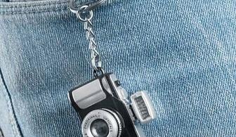 Ключодържател - фотоапарат със звук и светлина