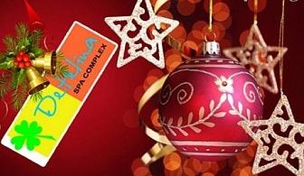 Коледа в Хисаря! 3 нощувки + външно джакузи с топла минерална вода и сауна от СПА Комплекс Детелина