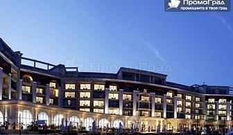 Коледа в Lighthouse Golf & Spa Hotel 5*, Балчик. 4 нощувки + закуски и вечери за 2-ма + 2 деца в стая парк
