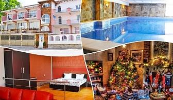 Коледа в Огняново. 3 или 4 нощувки на човек със закуски и вечери + минерален басейн в комплекс Черния кос