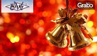Коледа в Сърбия! 2 нощувки със закуски, 1 обяд, 1 стандартна и 1 празнична вечеря в хотел Vila Lazar във Врънячка баня