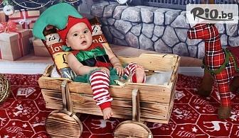Коледна фотосесия за бебета в студио с декори + всички обработени кадри, от Galliano Photography