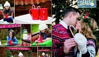 Коледна фотосесия на открито за деца, семейна или за влюбени от фотограф София Асеникова!
