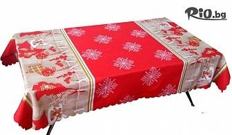 Коледна покривка за маса с размери 110 x 150cm, от Svito Shop