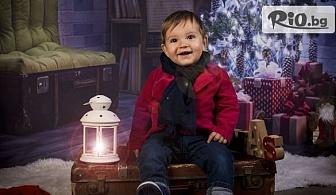 Коледна семейна фотосесия с 20 обработени кадъра + ефектен коледен колаж, от Pandzherov Photography