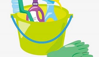 Комплексно почистване + машинно измиване на под и пране на мека мебел на помещения до 80 кв. м. само за 90 лв. от Авитохол, София