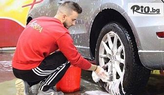 Комплексно VIP почистване + твърда вакса на лек автомобил, от Автокозметичен център Auto Spa