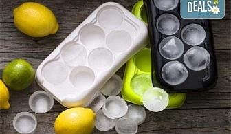 Комплект от 3 броя форми за лед от шведската фирма Drosselmeyer!